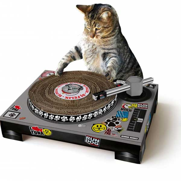 Cat Scratch DJ Deck - Dj Gifts