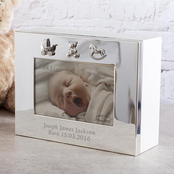 Personalised Baby Keepsake Box - Keepsake Gifts