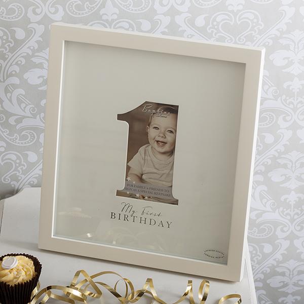 Bambino 1st Birthday Signature Photo Frame