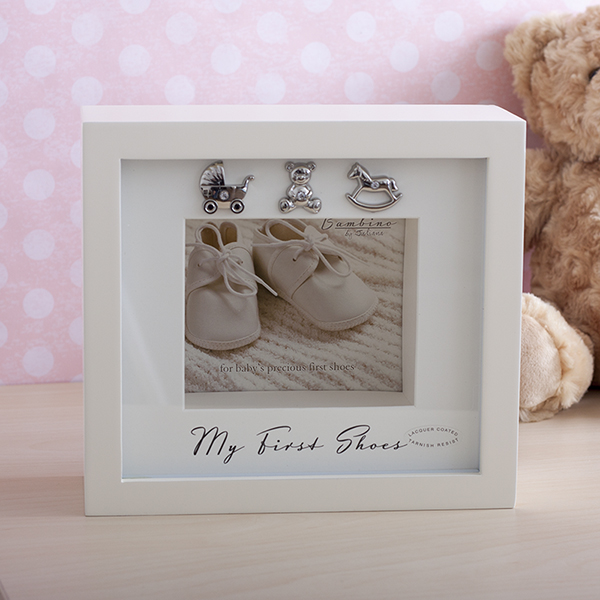 My First Shoes Keepsake Display Box - Shoes Gifts
