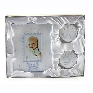 First Tooth & Curl Frame Set - Its a Boy - Frame Gifts