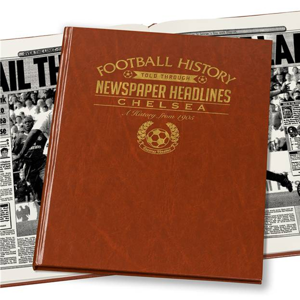 Personalised Chelsea Football Book Embossed