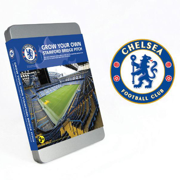 Grow Your Own Mini Football Pitch Chelsea - Chelsea Gifts