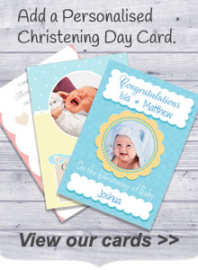 Personalised Christening Cards