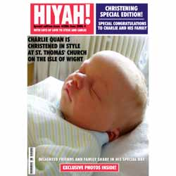 Christening Magazine Cover