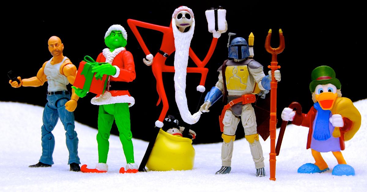 Christmas Film Figurines