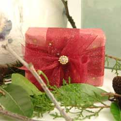 Luxury Soap Rose - Cinnamon