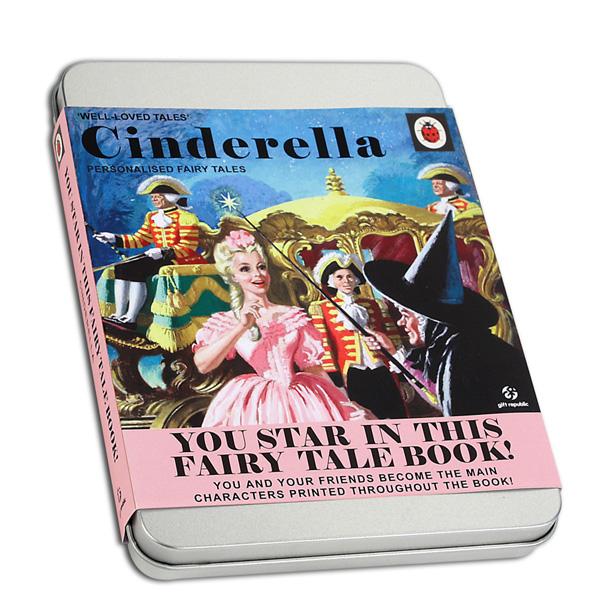 Cinderella Personalised Fairytale - Cinderella Gifts
