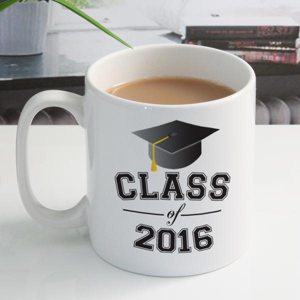 Personalised Class Of Graduation Year Mug