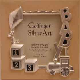 Baby Train Photo Frame