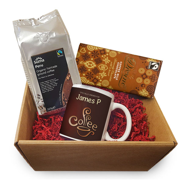 Personalised Coffee Hamper Coffee Hamper - Coffee Gifts