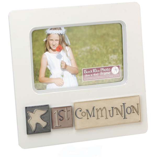 First Holy Communion Photo Frame 6 x 4 - First Holy Communion Gifts