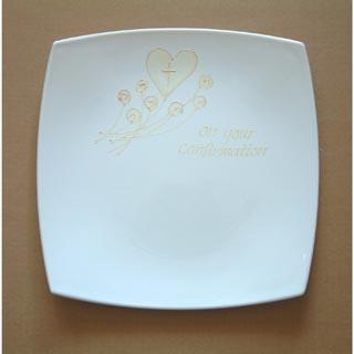 Confirmation Signature Plate