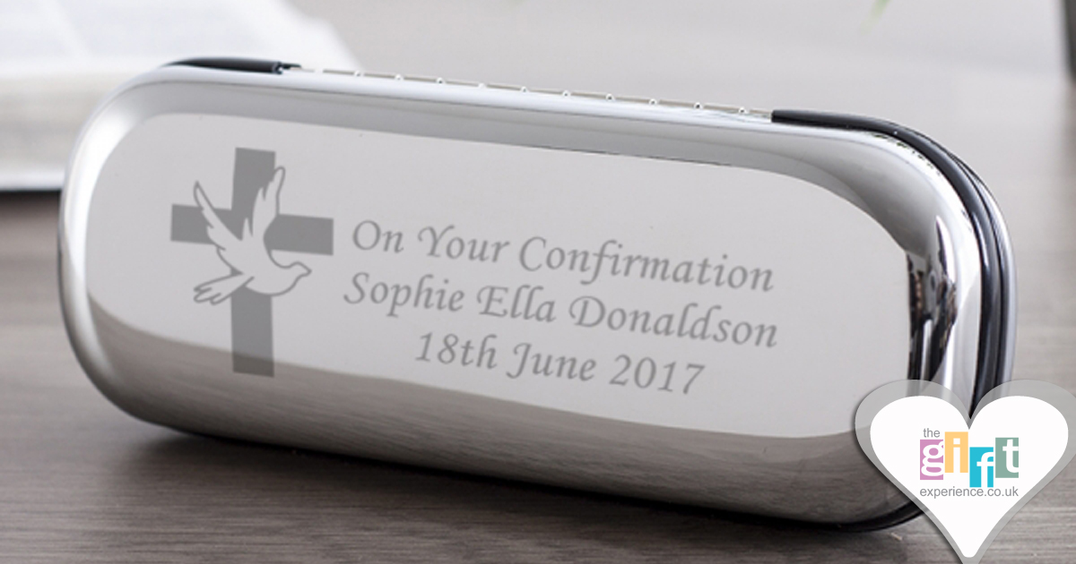 Personalised Confirmation Pen And Box Set