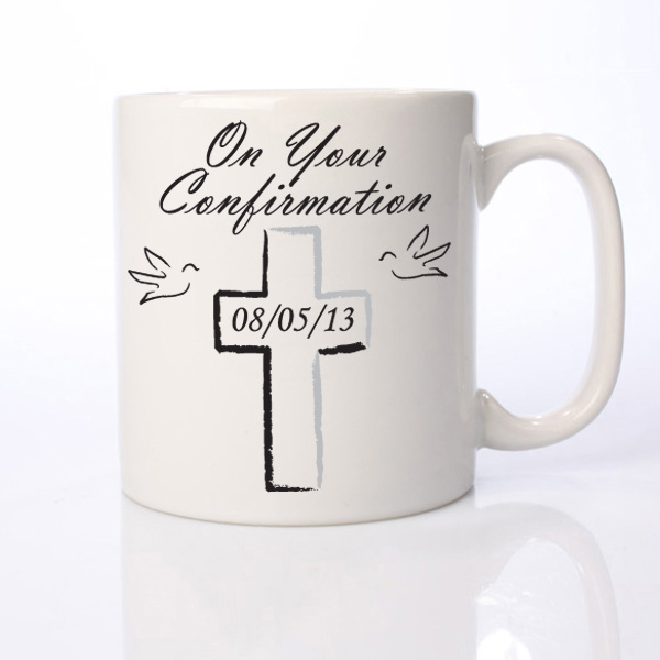 On Your Confirmation Personalised Mug