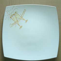 Congratulations Plate