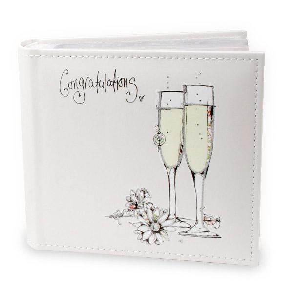 Congratulations Photo Album - Photo Album Gifts