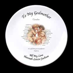 God Parent Plate God Father
