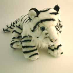Cuddly White Tiger
