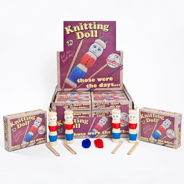 Retro French Knitting Doll
