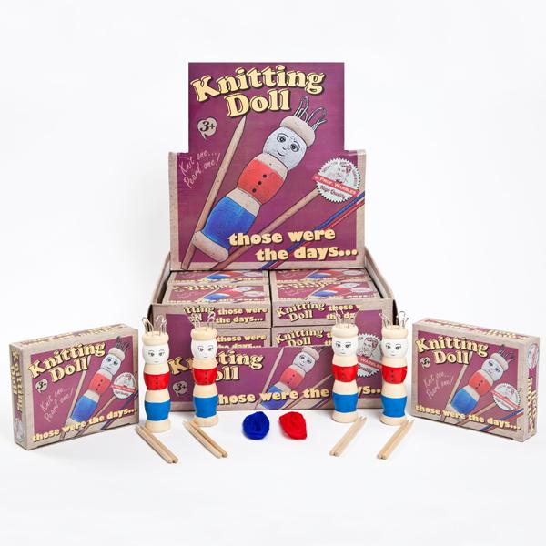 Retro French Knitting Doll - Knitting Gifts
