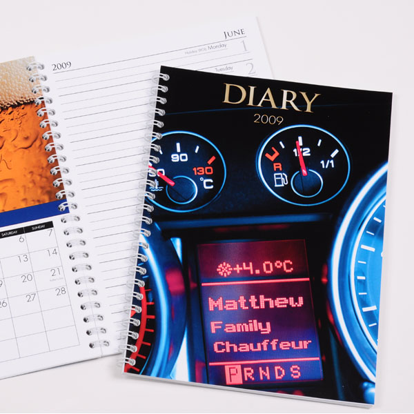 Personalised Best Dad Diary - Dad Gifts