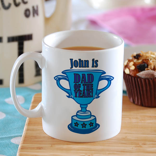 Dad Of The Year Personalised Mug