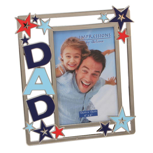 Dad Photo Frame with Stars - Stars Gifts