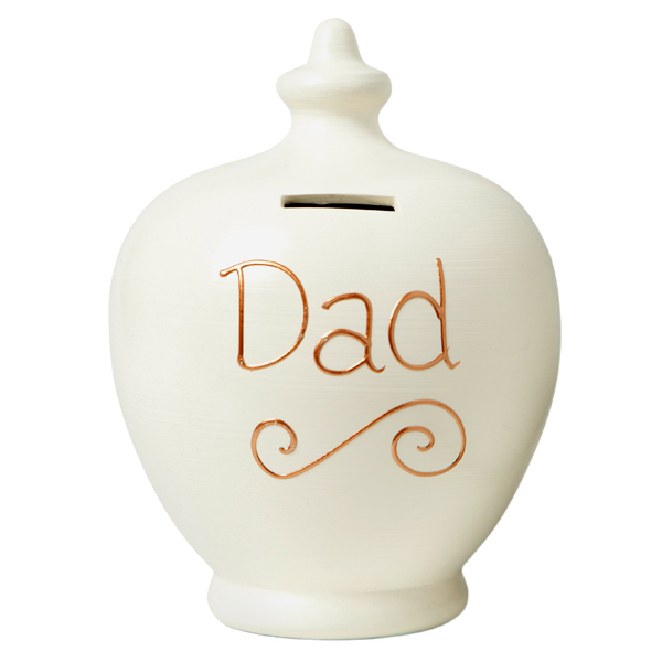Personalised Dad Terramundi Money Pot - Dad Gifts