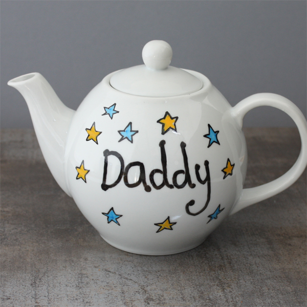 Personalised Daddy Teapot - Teapot Gifts