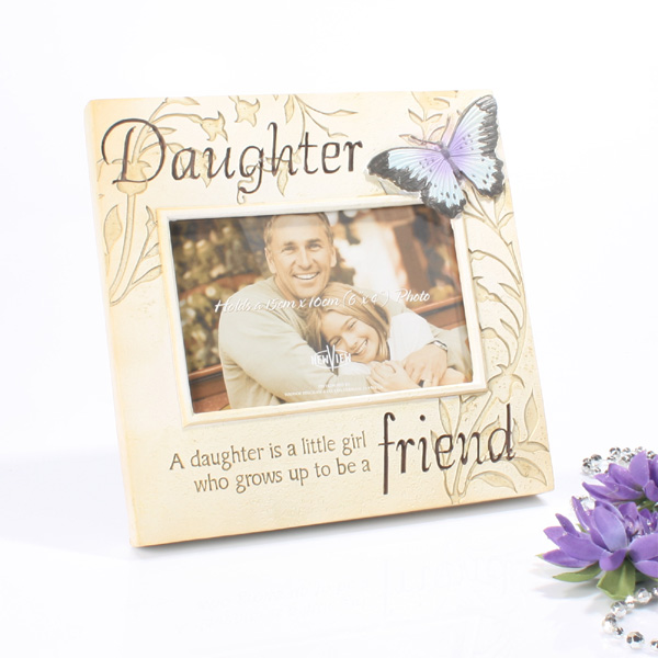 Stone Effect Photo Frame - Daughter - Daughter Gifts