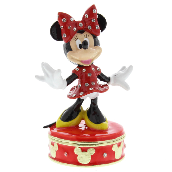 Minnie Mouse Trinket Box - Minnie Mouse Gifts