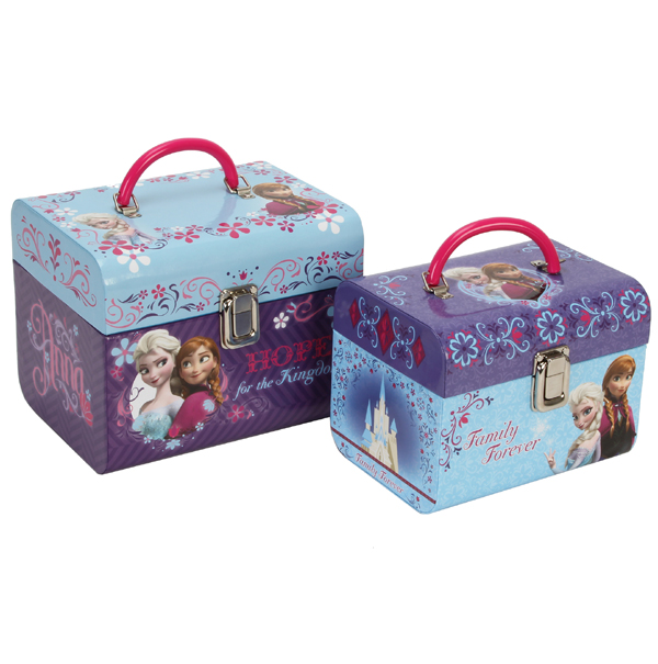 Disney Frozen Set of 2 Train Cases