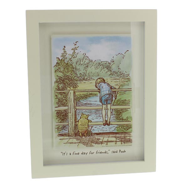 Disney Classic Winnie The Pooh Heritage Wall Art - Fine Day For Friends - Friends Gifts