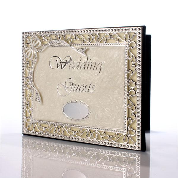 Personalised Luxury Wedding Guest Book