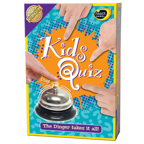 Dinger Games Kids Quiz - Games Gifts