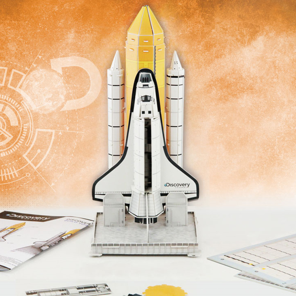 Discovery Build Your Own 3D Space Shuttle - Build Your Own Gifts
