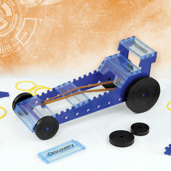 Discovery Build Your Own Rubber Band Dragster - Build Your Own Gifts