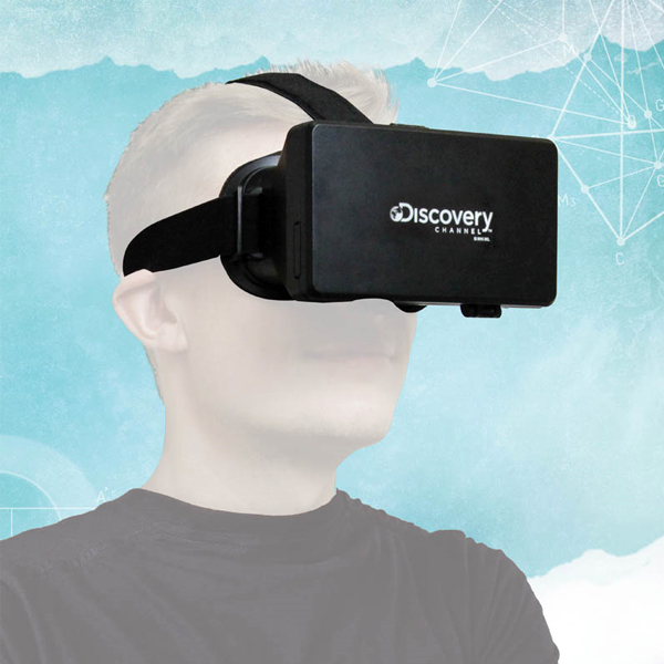 Discovery Channel Virtual Reality Glasses