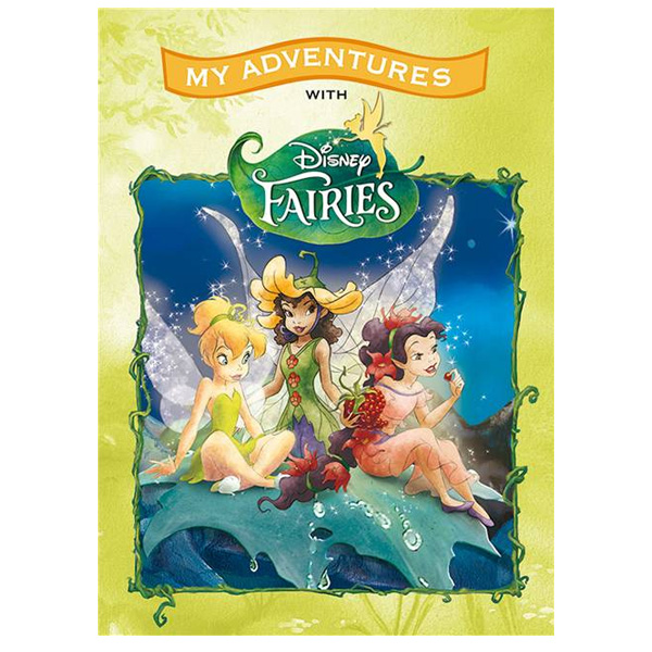 Disney Fairies Personalised Large Adventure Book - Disney Fairies Gifts