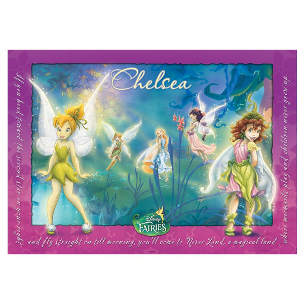 Disney Fairies Personalised Placemat - Disney Fairies Gifts