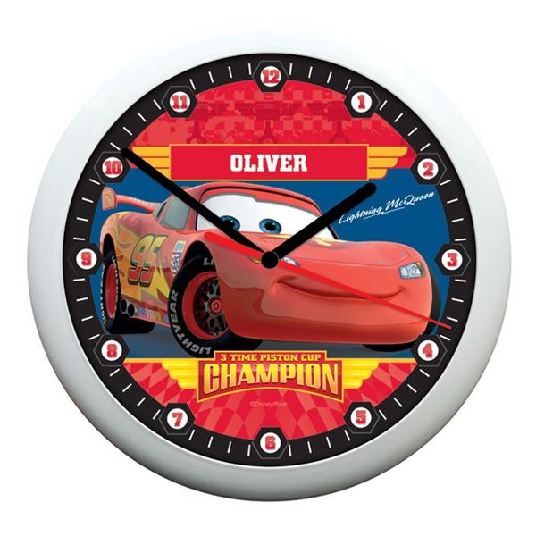 Personalised Disney Pixar Cars Piston Cup Clock