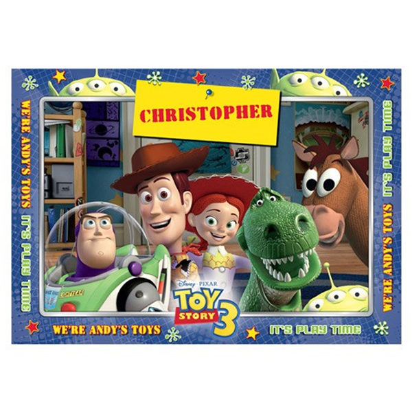 Disney Pixar Toy Story 3 Personalised Placemat - Toy Story 3 Gifts