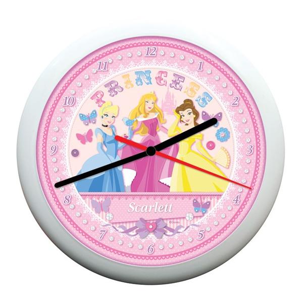 Personalised Disney Princess Fairytale Clock
