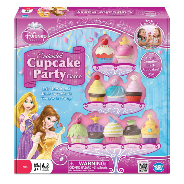 Disney Princess Enchanted Cupcake Party Game - Princess Gifts
