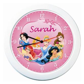 Disney Princess Personalised Clock