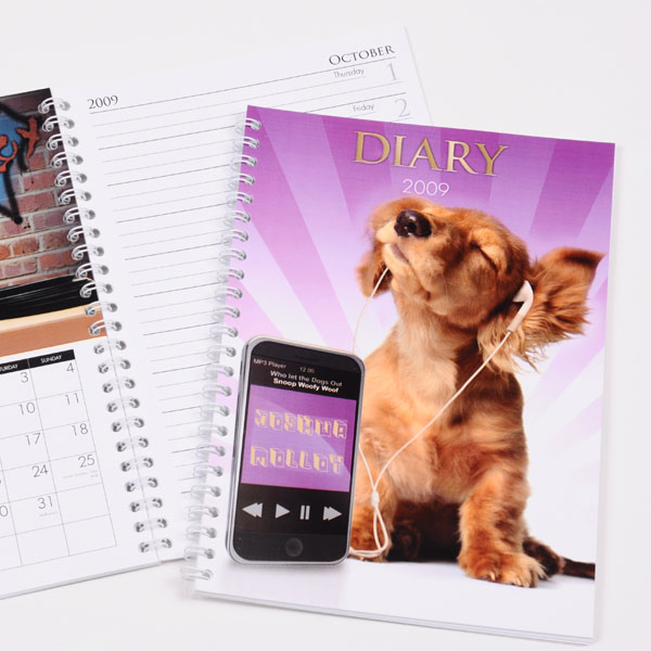 Personalised Dog Diary - Dog Gifts