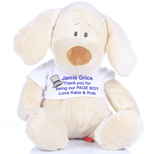Page Boy Message Puppy - Puppy Gifts