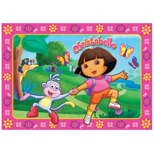 Dora Personalised Placemat - Dora Gifts
