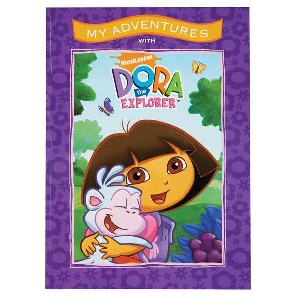 Image of Dora the Explorer Personalised Adventure Book